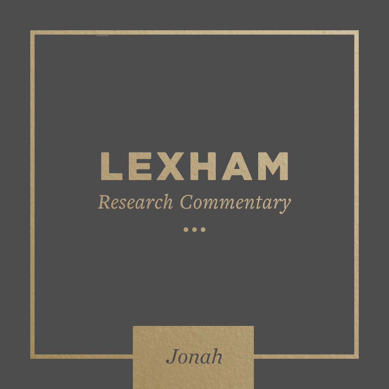 Lexham Bible Guide: Jonah