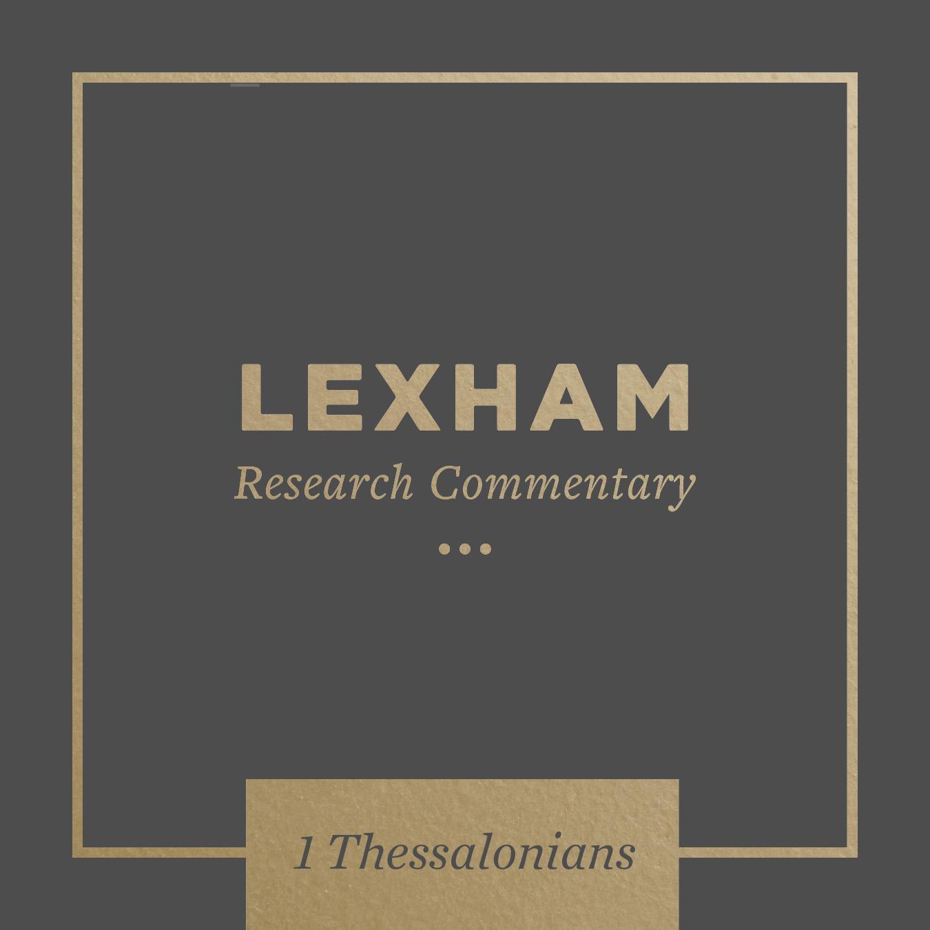 Lexham Bible Guide: 1 Thessalonians