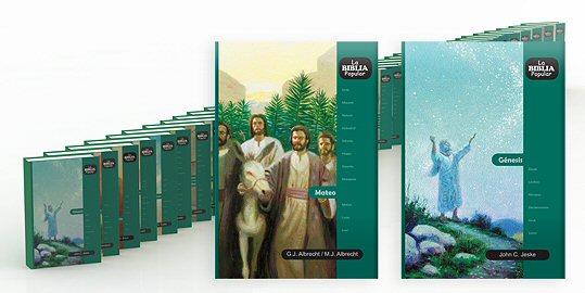 La Biblia Popular (41 vols.)