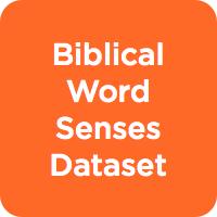 Biblical Word Senses Dataset