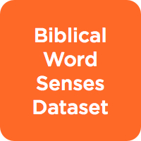 Biblical Word Senses Dataset