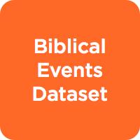 Biblical Events Dataset