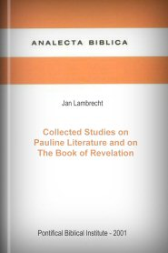 Collected Studies on Pauline Literature and on the Book of Revelation