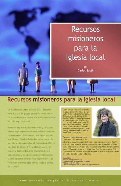 Recursos misioneros para la Iglesia local