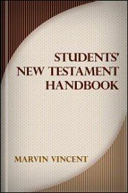 Student's New Testament Handbook