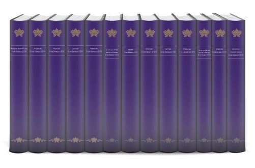 The Homilies, Audiences, and Other Writings of Pope Benedict XVI in English and Latin (13 vols.)