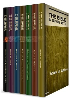 The Bible in Seven Acts, with Slides (7 vols.)