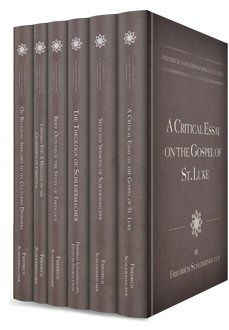 Friedrich Schleiermacher Collection (6 vols.)