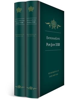Encyclicals of Pope John XXIII in English & Latin (2 vols.)