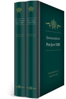 Encyclicals of Pope John XXIII in English & Latin (2 vols.)