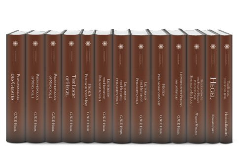 Works of Hegel (13 vols.)