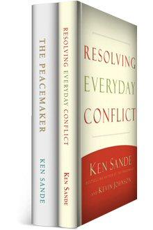 Ken Sande Peacemaker Ministries Collection (2 vols.)