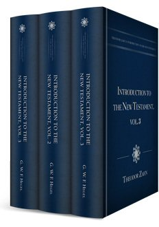 Theodor Zahn's Introduction to the New Testament