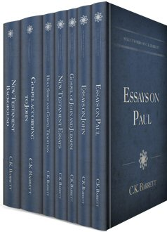 Select Works of C. K. Barrett (7 vols.)