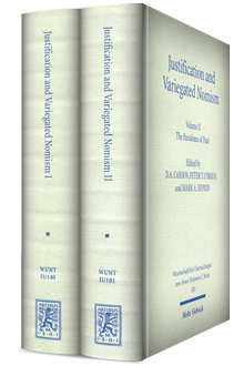 Justification and Variegated Nomism (2 vols.)