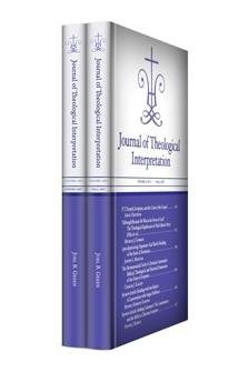 Journal of Theological Interpretation, vol. 1
