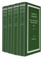 Diogenes Laertius' Lives of Eminent Philosophers (4 vols.)