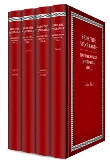 Bede's Ecclesiastical History (4 vols.)