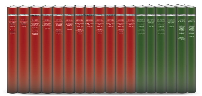 Stoics of the Roman Era Collection (18 vols.)