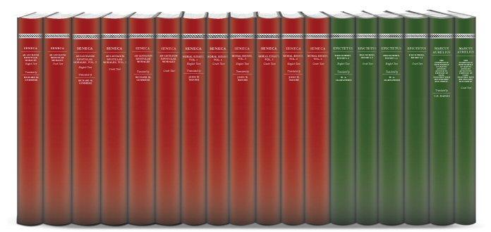 Stoics of the Roman Era Collection (18 vols.)