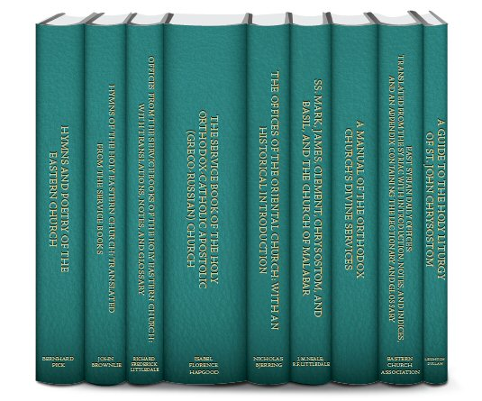 Hymns, Liturgies, and Service Books of the Orthodox Church (9 vols.)