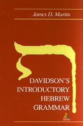 Davidson's Introductory Hebrew Grammar