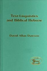 Text-Linguistics and Biblical Hebrew