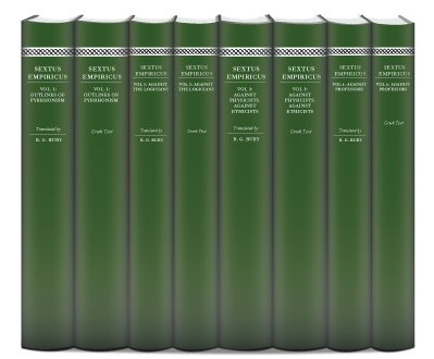 Works of Sextus Empiricus (8 vols.)