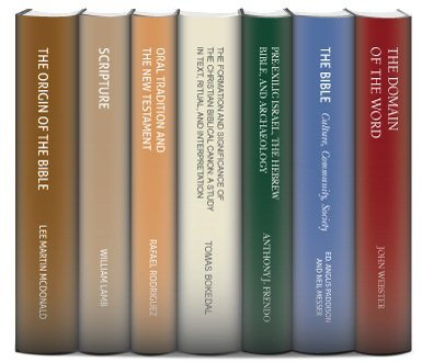 T&T Clark Bibliology Collection (7 vols.)