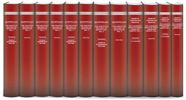 Rhetoricians of the Roman Era Collection (12 vols.)