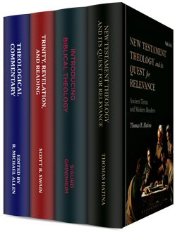 T&T Clark Studies in Biblical Theology and Theological Interpretation (4 vols.)