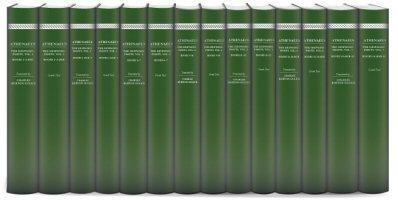 Athenaeus' The Deipnosophists (14 vols.)