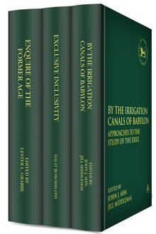 T&T Clark Studies in Biblical History and Historiography (3 vols.)