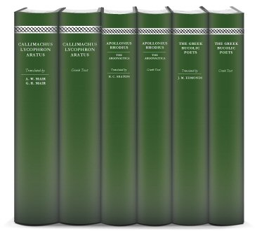 Hellenistic Greek Poetry Collection (6 vols.)
