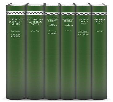 Hellenistic Greek Poetry Collection (6 vols.)