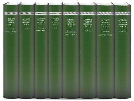 Appian's Roman History (8 vols.)