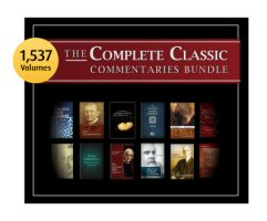 The Complete Classic Commentaries Bundle (1,537 vols.)