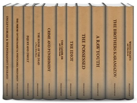 Collected Works of Fyodor Dostoevsky (11 vols.)