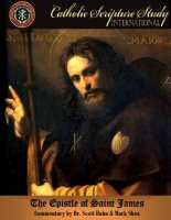 Catholic Scripture Study International: The Epistle of St. James