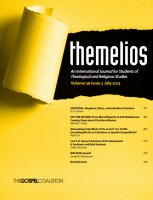 Themelios: vol. 38, no. 2, July 2013