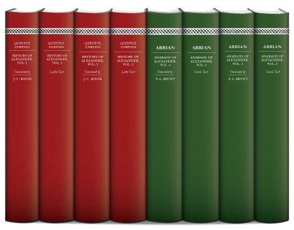 Histories of Alexander the Great (8 vols.)