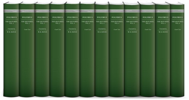 Polybius' The Histories (12 vols.)