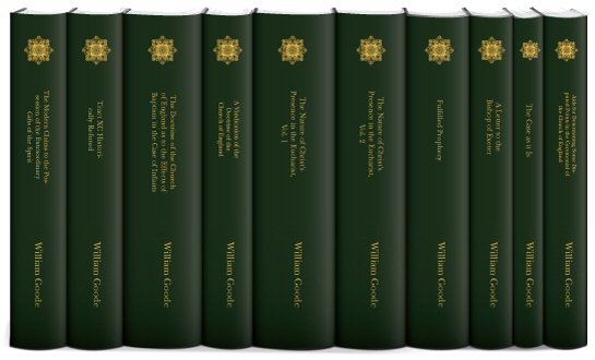 Select Works of William Goode (10 vols.)