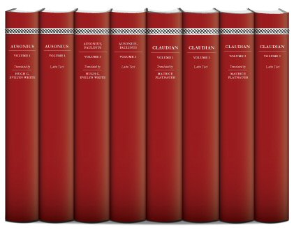 Latin Poets of Late Antiquity (4 vols.)