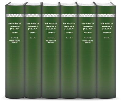 The Works of the Emperor Julian (6 vols.)