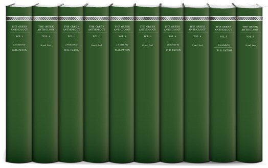 W. R. Paton's Greek Anthology (10 vols.)