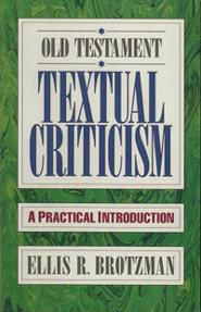 Old Testament Textual Criticism