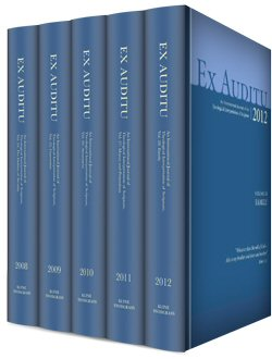 Ex Auditu: An International Journal of Theological Interpretation of Scripture (5 vols.)