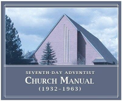 Seventh-day Adventist Church Manual (1932–1963) (8 vols.)