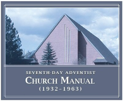 Seventh-day Adventist Church Manual (1932–1963) (8 vols.)